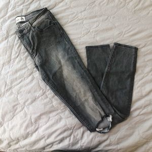Abercrombie & Fitch Grey Jeans